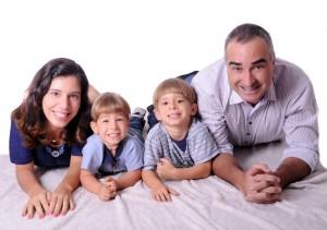 Bia, filhos & Fabio