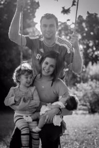 Dres, Paula e filhas